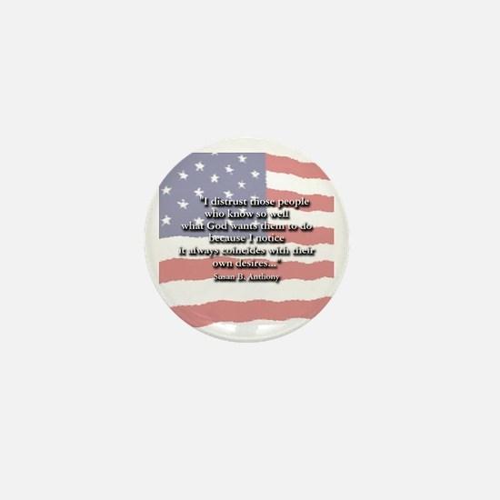 Susan B. Anthony Mini Button