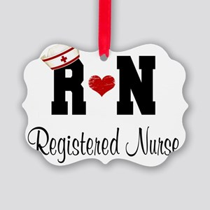 Registered Nurse (RN) Picture Ornament