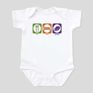 Eat Sleep Packing Infant Bodysuit
