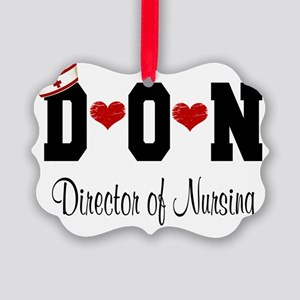 Director of Nursing (DON) Picture Ornament