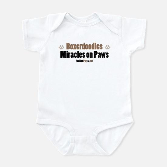 Boxerdoodle dog Infant Bodysuit