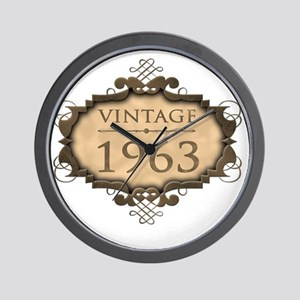 1963 Birthday Vintage Wall Clock
