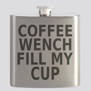Coffee wench fill my cup Flask