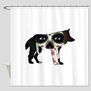SUGAR WOLF Shower Curtain