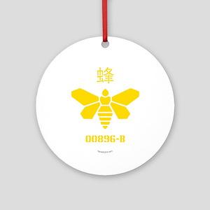 Methylamine Barrel Bee Ornament (Round)