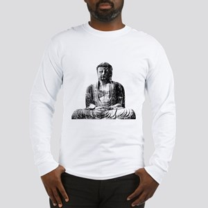 Retro Buddha Long Sleeve T-Shirt