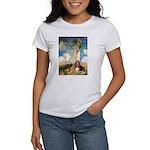 Umbrella & Basset Women's T-Shirt