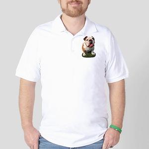 Bulldog Photo Golf Shirt