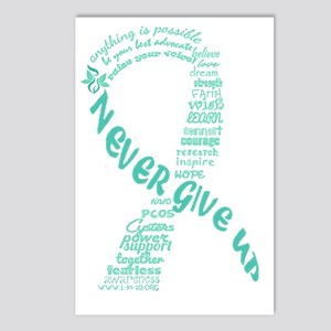 PCOS Awareness Month 2013 Postcards (Package of 8)