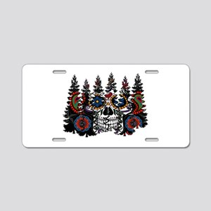 SUGAR FOREST Aluminum License Plate