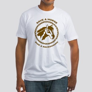 Ride A Macedonian Fitted T-Shirt