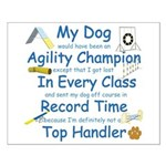 Agility Champion Small Poster