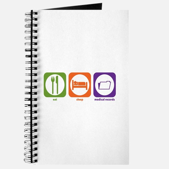 Eat Sleep Medical Records Journal