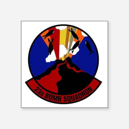"""23rd Bomb Squadron Square Sticker 3"""" x 3"""""""