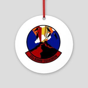 23rd Bomb Squadron Round Ornament