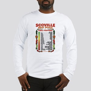 Scoville Heat Scale Long Sleeve T-Shirt