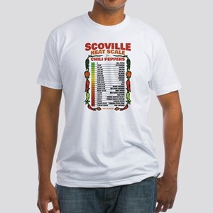 Scoville Heat Scale Fitted T-Shirt