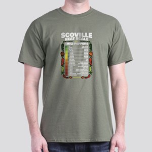 Scoville Heat Scale Dark T-Shirt