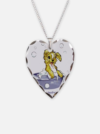Doggie Dog Wash Necklace