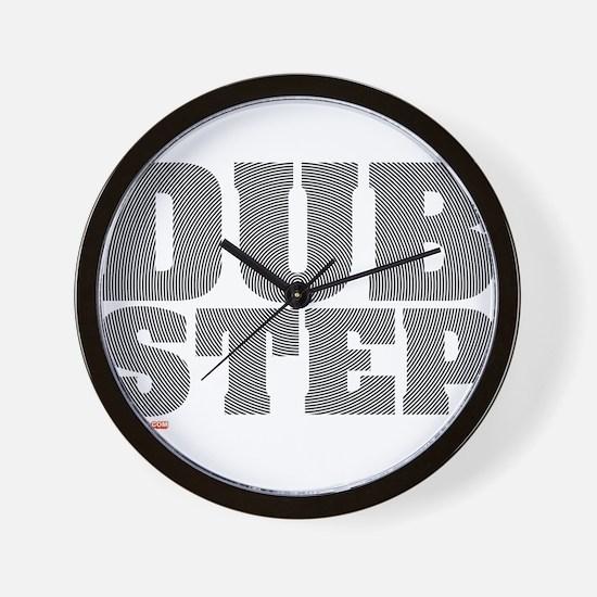 Dub Step Vinyl Wall Clock