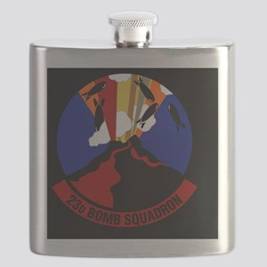 23rd Bomb Squadron Flask
