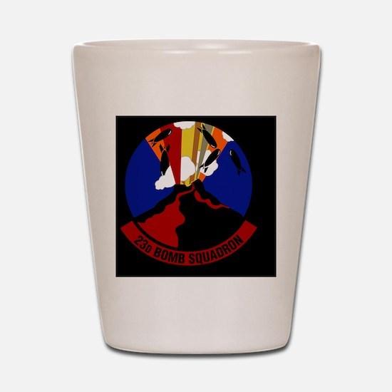 23rd Bomb Squadron Shot Glass