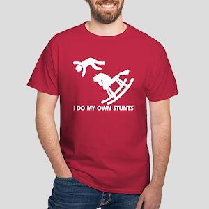 Rocking Horse, My Own Stunts Dark T-Shirt