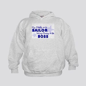 but My Mommy is the BOSS Kids Hoodie