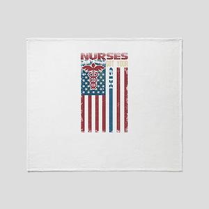 Nurses Are The Best Throw Blanket