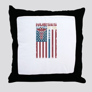Nurses Are The Best Throw Pillow