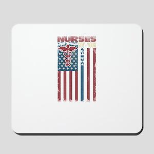 Nurses Are The Best Mousepad
