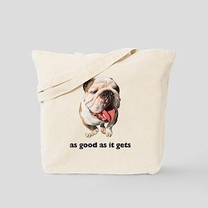 Good Bulldog Photo Tote Bag