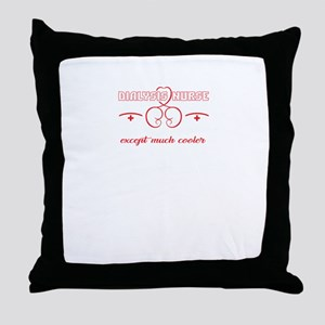 I'm A Dialysis Nurse Throw Pillow