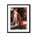 The Accolade & Basset Framed Panel Print