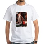 The Accolade & Basset White T-Shirt