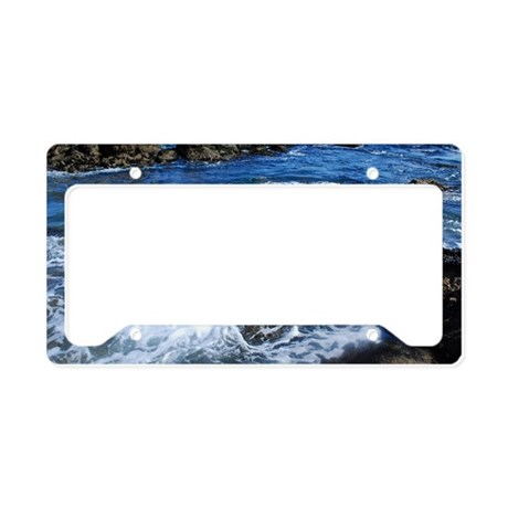 Ocean License Plate Holder By Admin Cp112453893