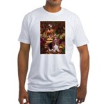 The Path & Basset Fitted T-Shirt