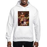 The Path & Basset Hooded Sweatshirt