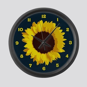 Sunflower Large Wall Clock