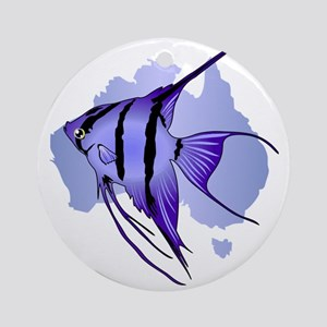 Australia -The Great Barrier Reef Round Ornament