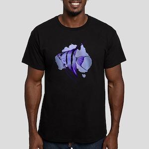 Australia -The Great B Men's Fitted T-Shirt (dark)