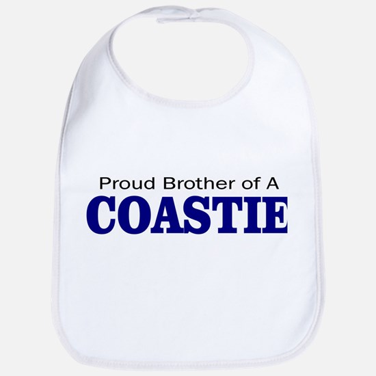 Proud Brother of a Coastie Bib
