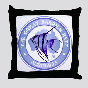 Australia -The Great Barrier Reef Throw Pillow