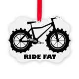 Cycling Picture Frame Ornaments