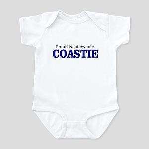 Proud Nephew of a Coastie Infant Bodysuit