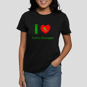I Love Emilia-Romagna Italy Women's Dark T-Shirt