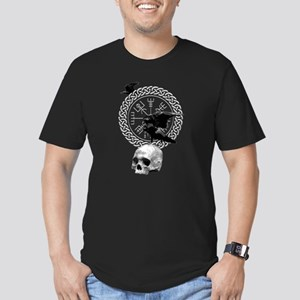 Vegvisir with Huginn and Muninn T-Shirt