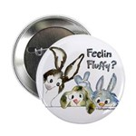 """Funny Rabbits 2.25"""" Button (100 pack)"""