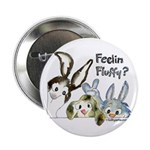 """Funny Rabbits 2.25"""" Button (10 pack)"""