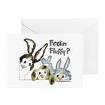 Funny Rabbits Greeting Cards (Pk of 10)